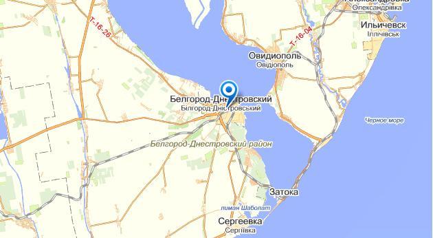 Белгород-днестровский где находиться