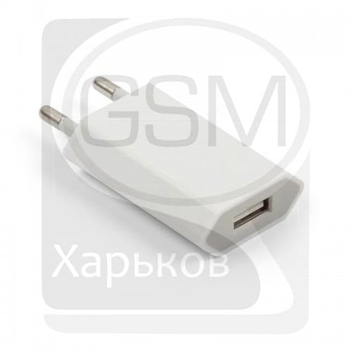 Зарядное устройство для Apple iPhone 2G, iPhone 3G, iPhone 3GS, iPhone 4, iPhone 4S, iPod Mini 1G, iPod Nano 3G, iPod Nano 4G, iPod Photo 4G, iPod Touch 1G, iPod Touch 2G, iPod Touch 3G, iPod Touch 4G, iPod Video 30 GB, оригинал (MD813ZM/A)