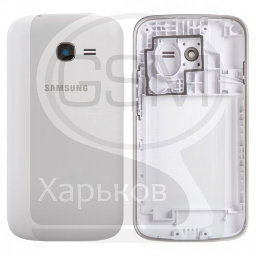 Корпус Samsung GT-S7262 Galaxy Star Plus Duos, белый, оригинал (Китай), (панель, панели)