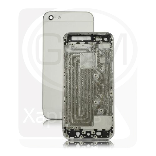 Корпус Apple iPhone 5, белый, оригинал (Китай), (панель, панели)